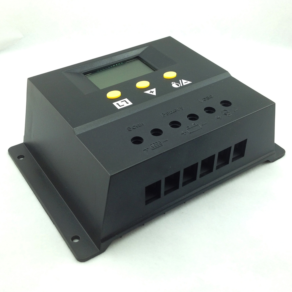 60a 12v 24v Solar Charge Controller Lcd Display