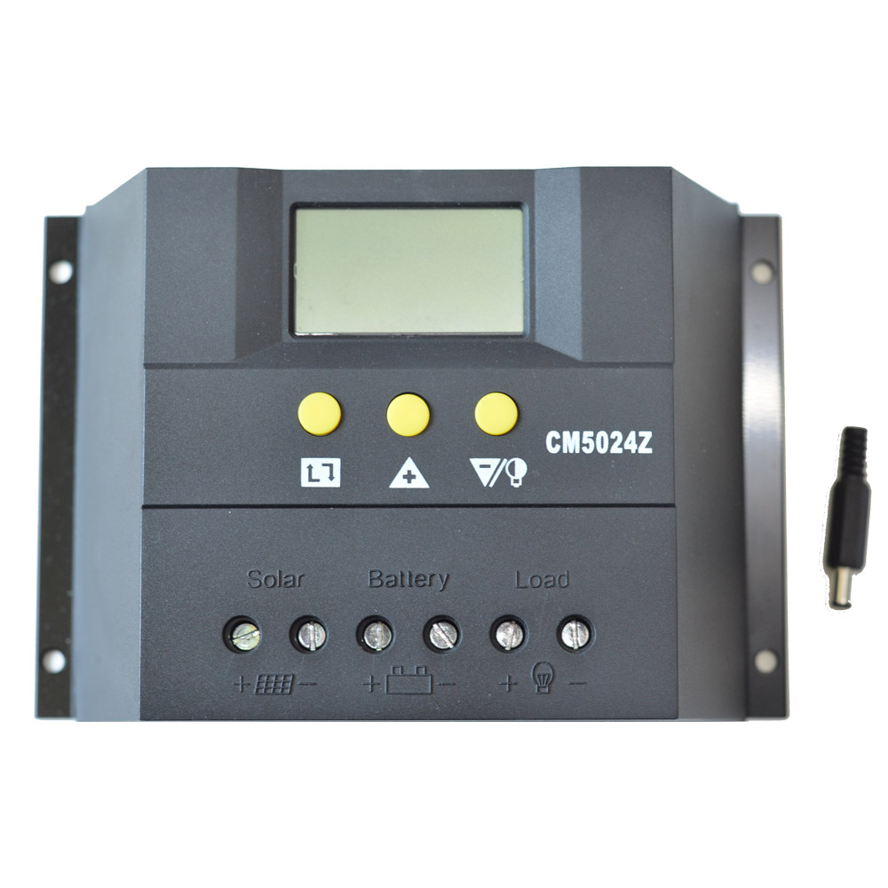 Cm5024z 50a Solar Charge Controller Lcd Display